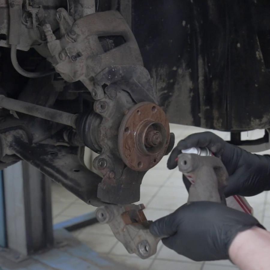 Обслуживание тормозной системы