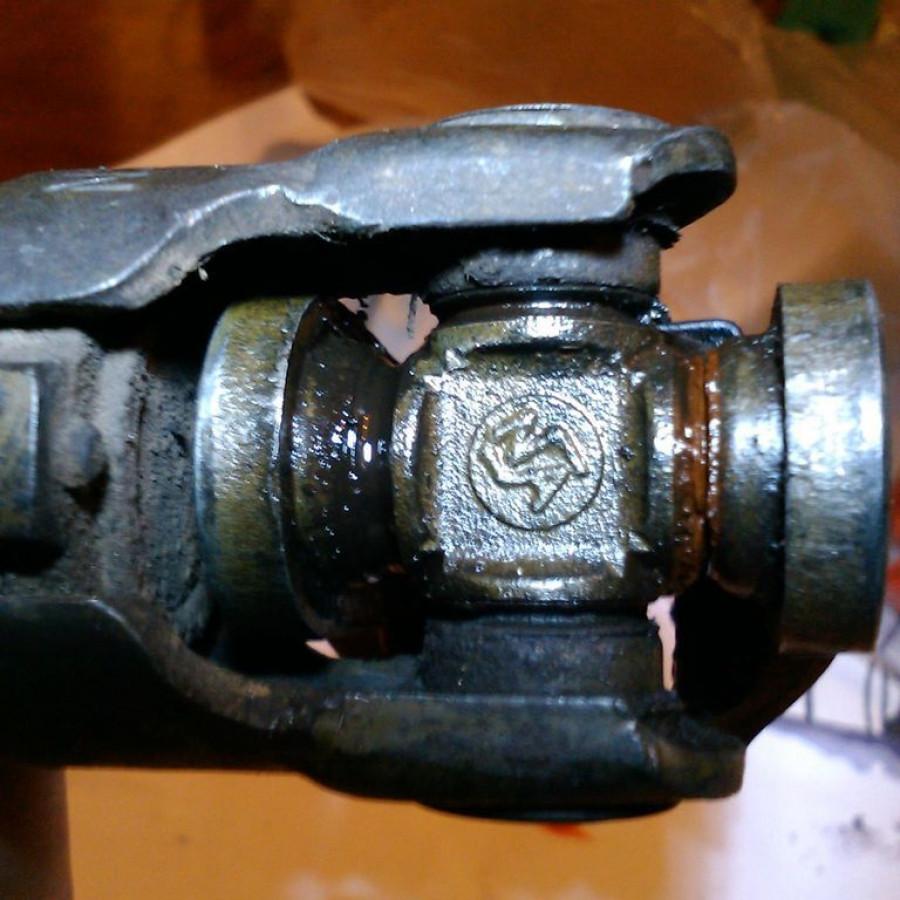 Замена рулевого кардана